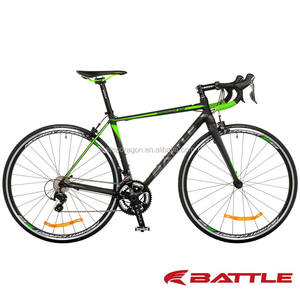 Retail WINDRIDER 500 Green 700C mens road bike / Carbon Road Bike with Continental tires