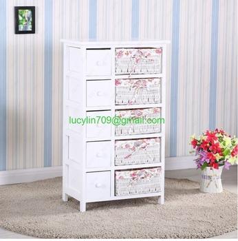 Bedroom Storage Dresser Chest 5 Drawers
