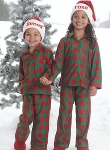 Wholesale Kids 100% Cotton Christmas holiday Pajamas ae517b5f1