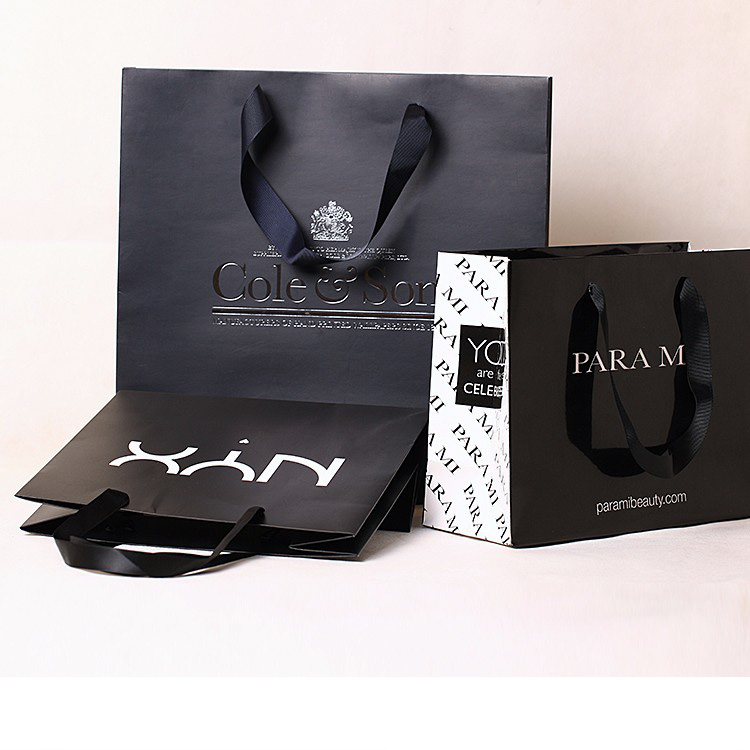 High quality paper bag your own logo for promotion