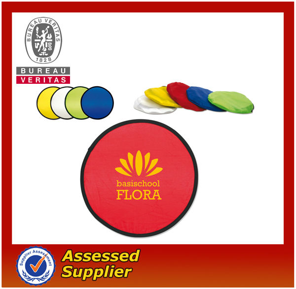 Folding Nylon Frisbee/frisbee/flying disc