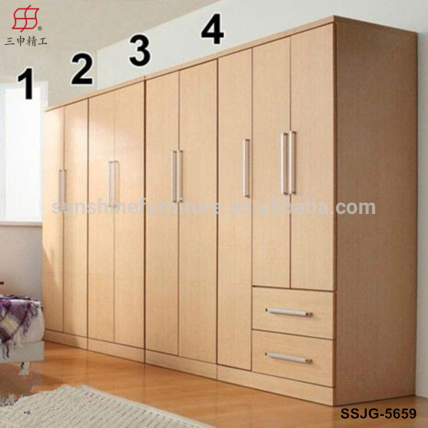 Cheap Modern Wood Wardrobe, Bedroom Closets Wardrobe Cabinets, Cloth Cabinet