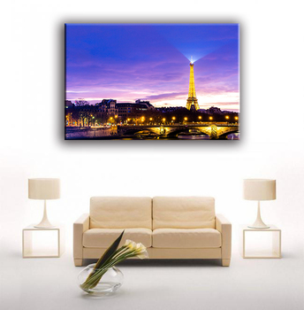 Classic-maxim Printed Lighted Frame Led Art Picture Canvas ...