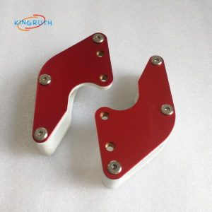 Motorcycle Tensioner Guard Chain Guide Guard Sprocket Protector Slider Red