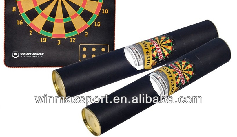 "15"" Roll up magnetic With 6 magnetic darts bar games 15 inch dartboard"