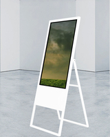 32 43 inch portable floor stand digital signage outdoor digital signage price