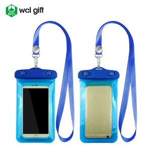 Free samples Pvc waterproof cell phone Pouch Waterproof Mobile Phone Bag for all phones