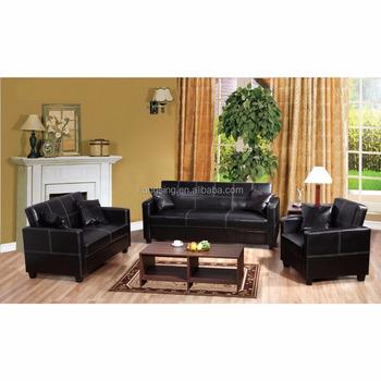 Black Leather Sofa Set White Stitching Designs And Prices - Buy Sofa Set  Designs And Prices,Black Leather Sofa White Stitching,Sofa Set Price  Product ...