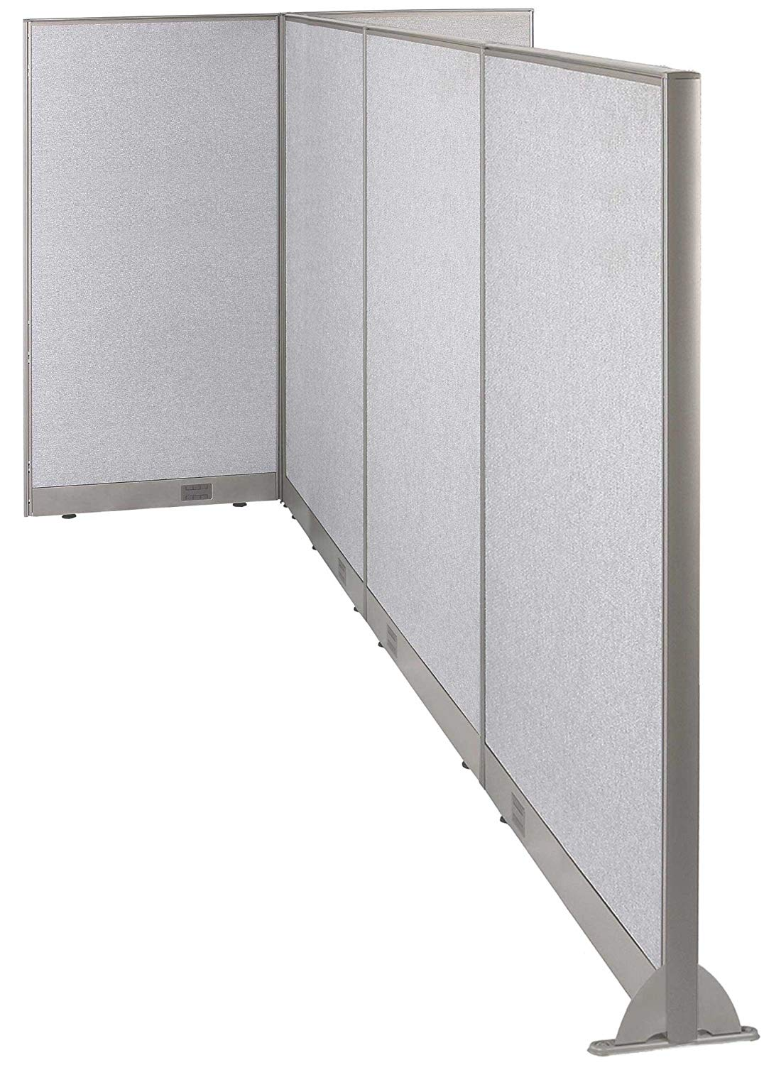 GOF T-Shaped Freestanding Partition 120d x 60w x 48h/ Office, Room Divider … (120d x 60w x 72h)