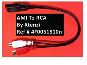 Audi Music Interface AMI MDI MMI to RCA Cable for RCD310 RNS510 A4/A5/A6/A8/Q5/Q7/R8/TT
