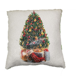 New best tree sequin pillow cushion for Christmas decoration