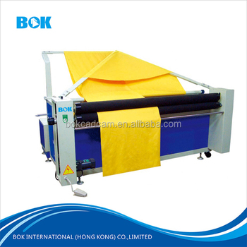With Electronic Eye Automatic Edge Alignment Fabric Fold Device Clothes Folding Machine