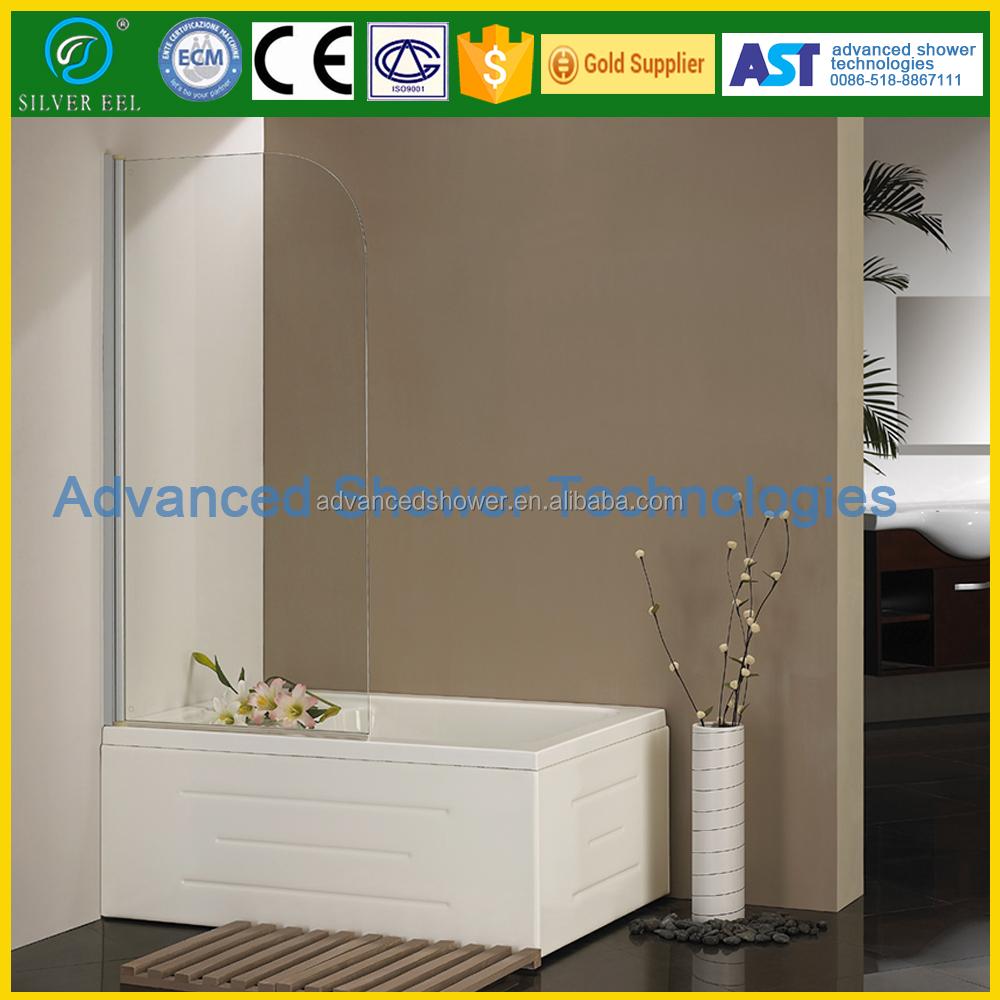 Columpio plegable baño prefabricado diseño esquina bañera mampara en ...