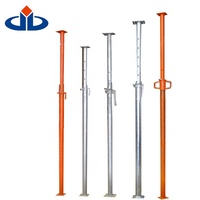 Easy Erect Adjustable Steel Prop Scaffolding Construction Material Steel Prop