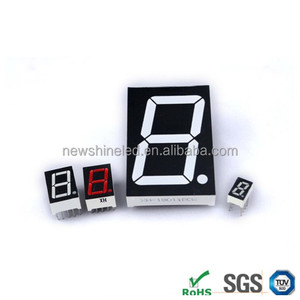 Industrial using 0.3 inch 7 segment led display 1 digit mini 7 segment for led seven segment message board display