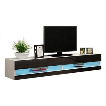 Wall Mounted High Gloss Led Tv Unit