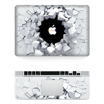 B2b business ideas hot sell laptop sticker skins for macbook decal stickers with 8 size for