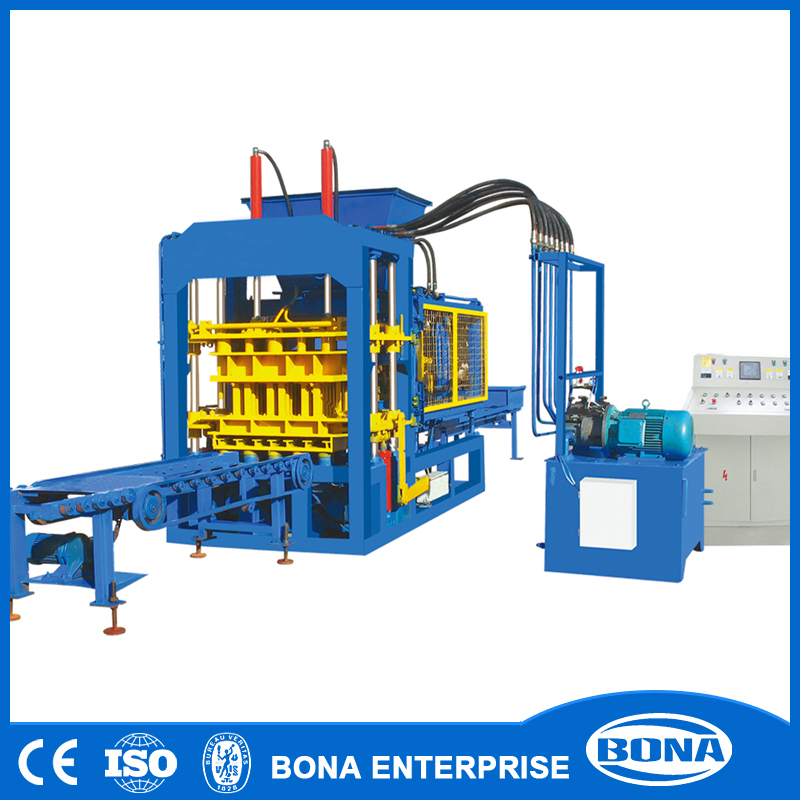 Building And Construction Equipment Automatic Cement Brick Machine