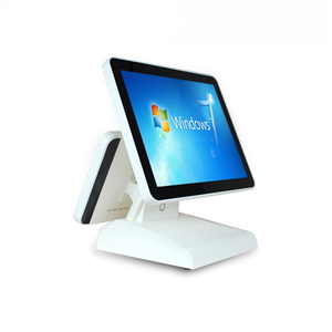 Pos System Dual Screen 15/12 Inch Windows 7 Point Of Sale Financial Equipment For Wholesalers POS1619D