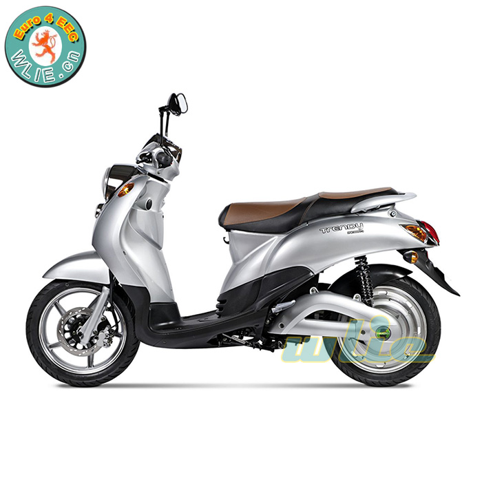 Scooter elettrico con cee rimovibile al litio made in china CEE COC Euro 4 Scooter Elettrico E-Scooter E-Trendy (EuroIV, Euro4)