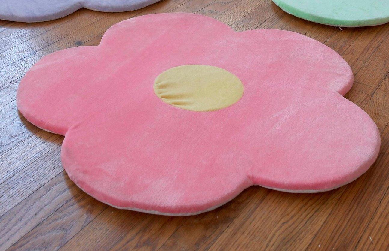 Buy Pink Flower Area Rug For Kids Girls Room Girls Area Rugs Girls