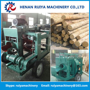 Mobile Log Tree Bark Removing Wood Peeler/Wood debarking machine/Log bark peeler