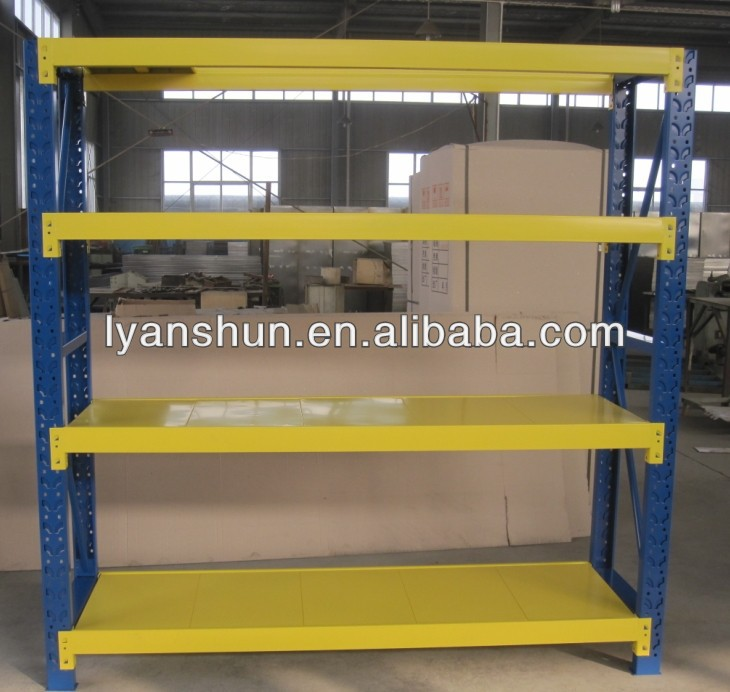 Heavy duty metal warehouse rack / shelf