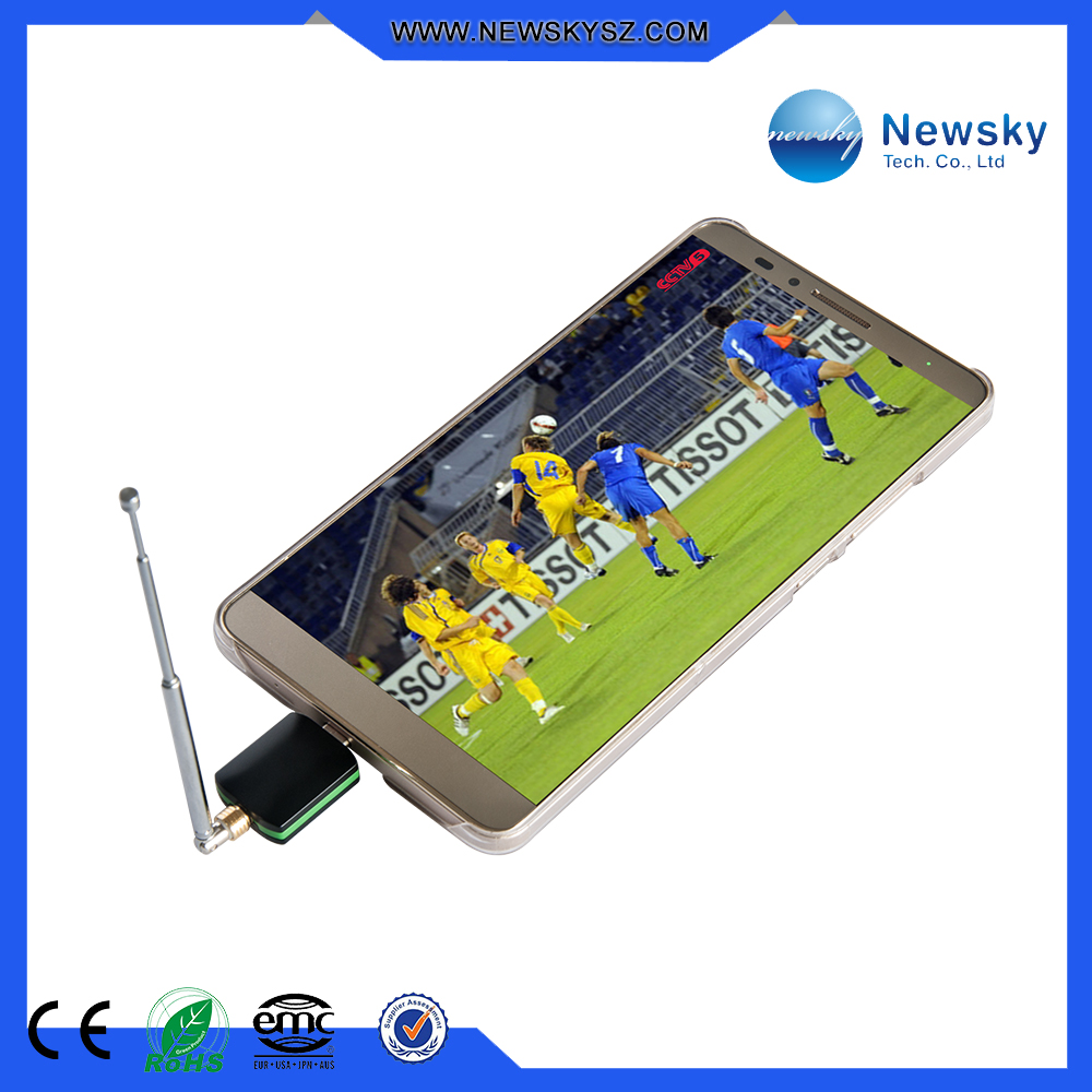 ISDB-T & DVB-T android phone tv tuner