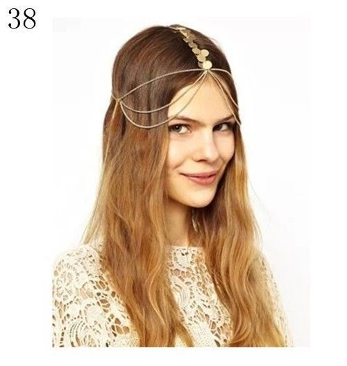 Europe High Quality Fancy Hair Accessory Silver Hair Jewelry