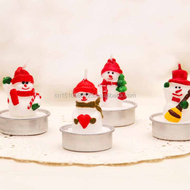 Event Party Supplies Type Christmas Santa Claus Candle