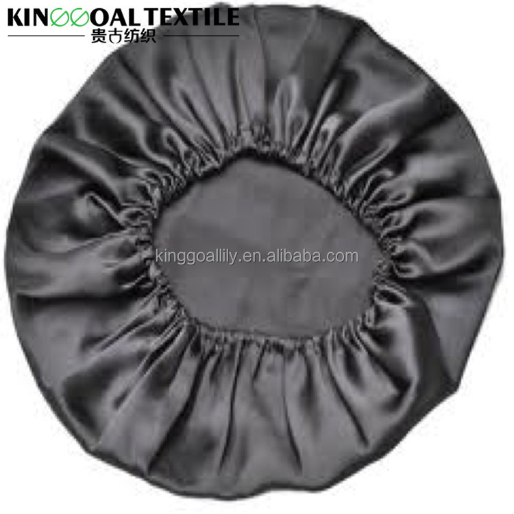 Double layer Women Night sleep Hair care 22MM Satin bonnet cap
