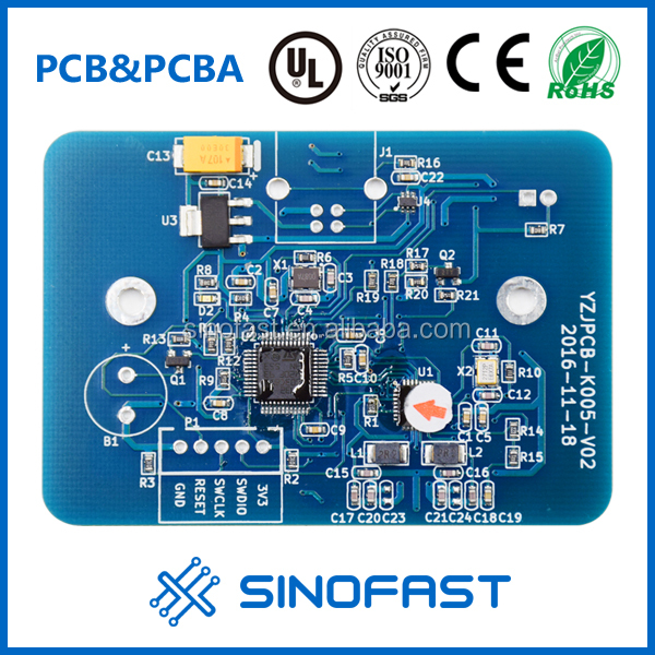 1.6mm Fr4tg170 2L 72*38mm wireless router circuit board assembly pcb manufacturer