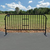 10 years long life use prefab Crowd Control Fencing Panel temporary fence