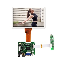 AT070TN94 50 pin connector 800x480 tft tn lcd module display fpc universal controller board 7 inch monitor screen