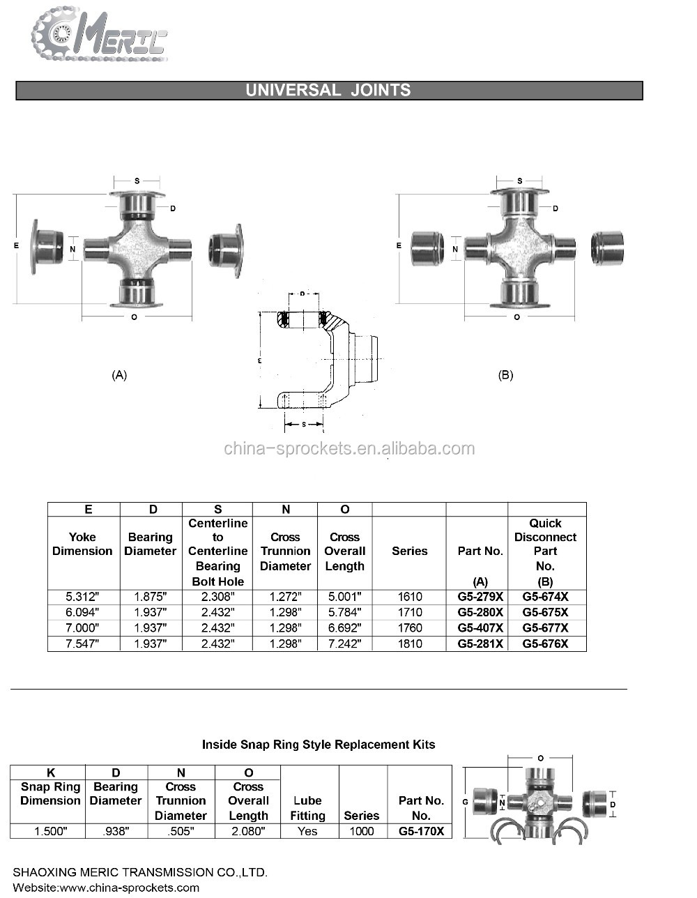 Universal Joint Cross Gmb Universal Joint For 419-20-12621 - Buy Universal  Joint,Universal Cross Joint,Gmb Universal Joint Product on Alibaba com
