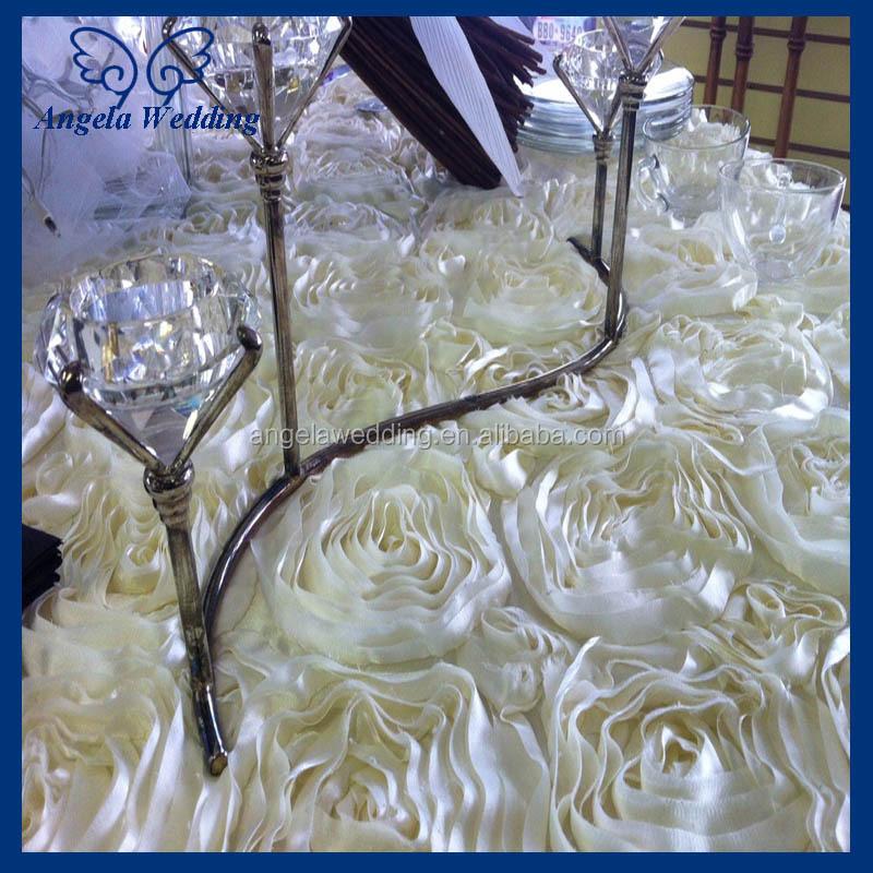 CL018B Cheap Hot sale fancy elegant rectangular White wedding ...