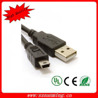 High speed USB 2.0 Mini USB Connection