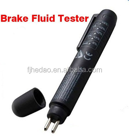 5 LED Mini Electronic Brake Fluid Liquid Tester Pen Auto Car Vehicle Tools Diagnostic Tools Universal
