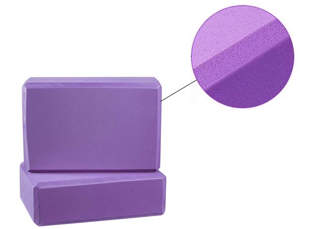 Bloco da Ioga GB-5494MT Várias cores personalizadas melhorar a Força e ajudar a Equilibrar e Flexibilidade-Luz