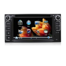 In-car entertainment Car audio stereo system/radio/dvd/gps navigation for Toyota