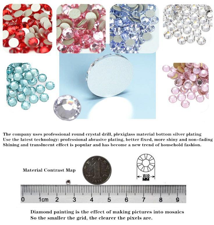 Estilo de moda de lobo Totem de 5D pintura diamante