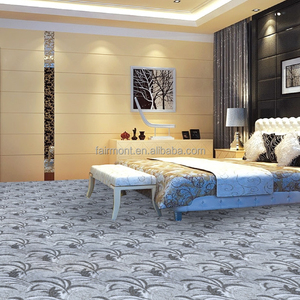 Luxury Fireproof Wool Hotel Axminster Carpet For banquet hall