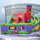 New Design Mushroom Printing Titanic Giant Inflatable Slide