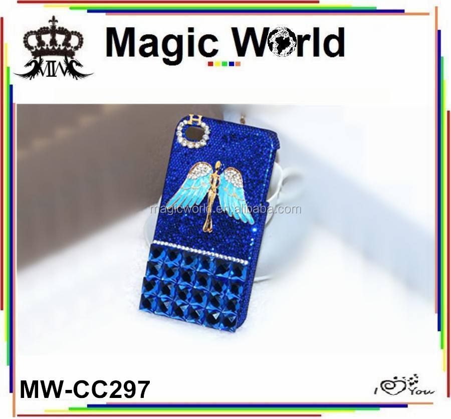 FOR IPHONE 5 ANGEL DECO DIAMOND CASE