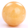 Wholesale Orange calcite ball craved crystal gems sphere