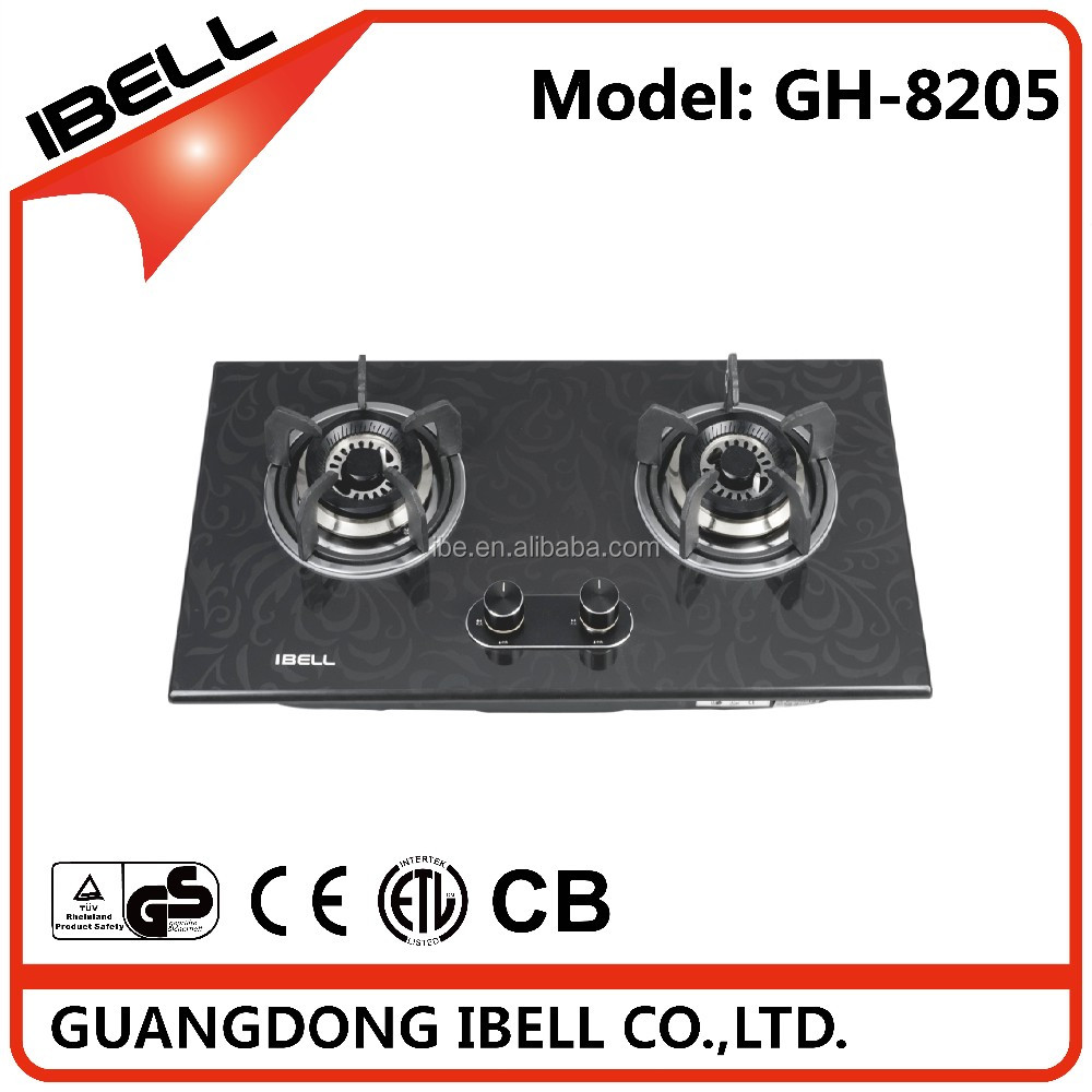 2017 Good Quality 5 Burner Gas Fired Burners China/ Cast Iron Selected Stoves/ Housing Stainless Steel