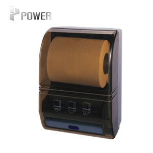 Auto plastic hand towel cut electric automatic toilet paper dispenser