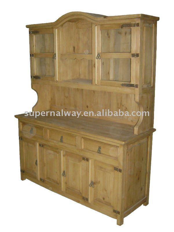 100% Pino Cocina Muebles Para El Hogar Con Cajones - Buy Muebles De ...