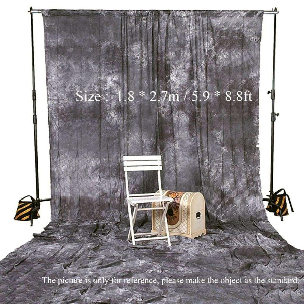 Background screen photography studio video backdrop 1 8 2 7m 5 9 8 8ft tie dyed 100 cotton muslin backdrop