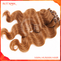 Unprocessed 6A Peruvian Virgin Hair Extension #33 Red/ Dark Auburn Peruvian Body Wave